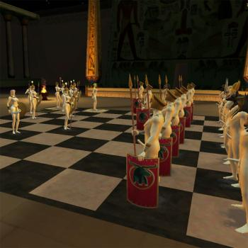 Love Chess: Age of Egypt - Board