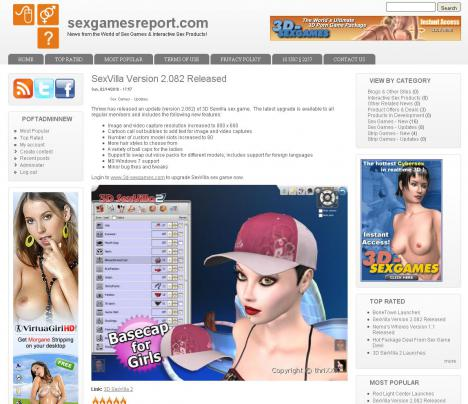 Sex Games Report