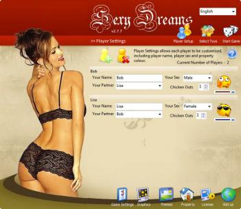 Product Category: Adult Games. Platform: MS Windows. Sexy Dreams Home Page